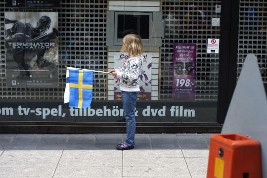 Sweden Danmark 6juni09